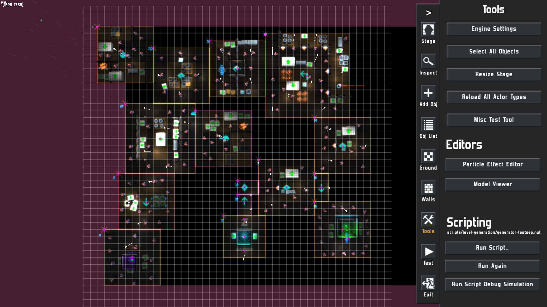 About Procedural Level Generation in Neon Chrome | Neon Chrome