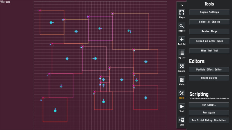 About Procedural Level Generation in Neon Chrome